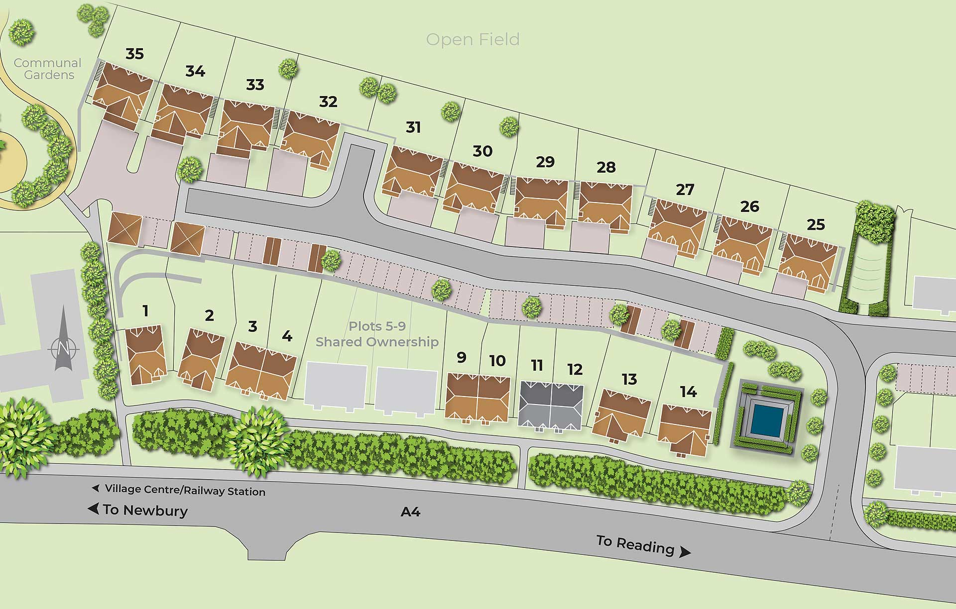 Reed Gardens Site Plan 4