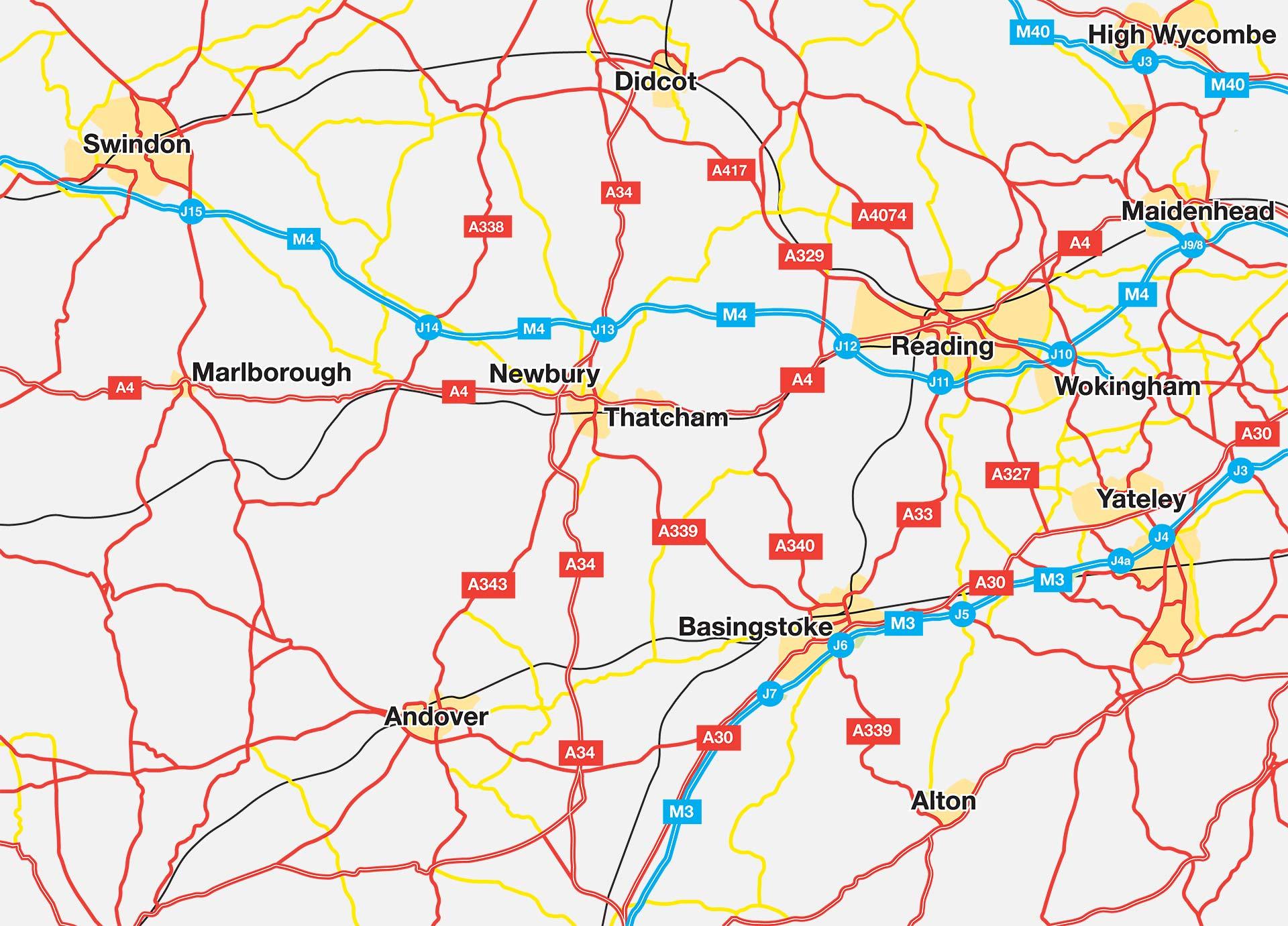 Past Developments Map