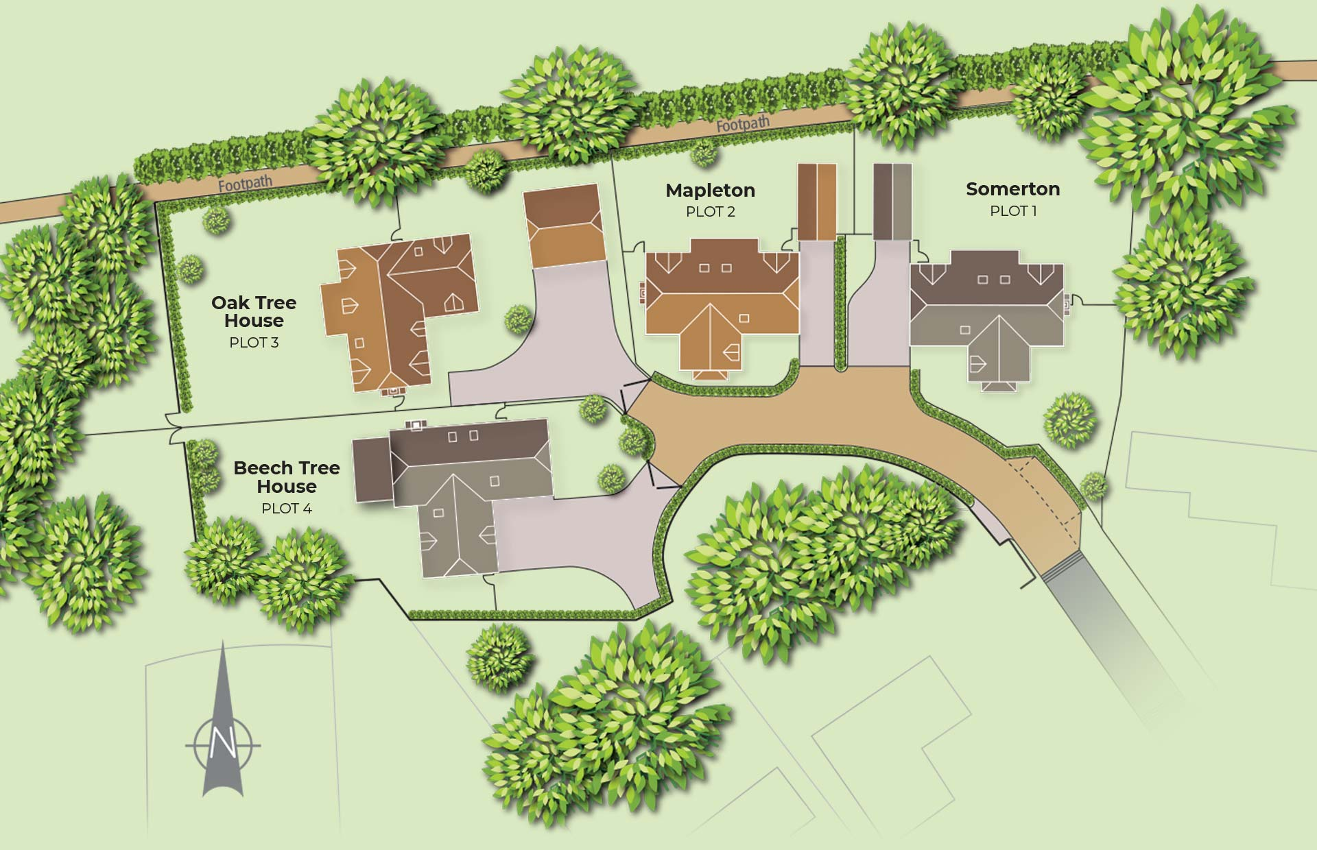 The Shires Site Plan 2